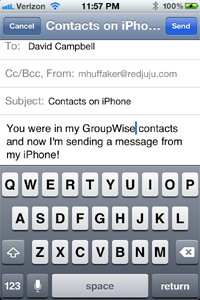 GroupWise-iPhone-Contacts-Email