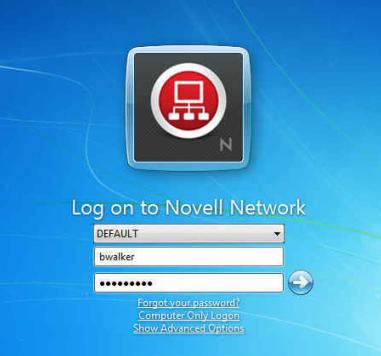 change passwords windows 7
