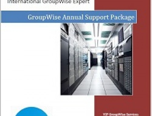 Introducing the VIP GroupWise Annual Support Package
