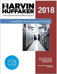 GroupWise Annual Support Package Brochure